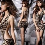 Stylish Sexy Leopard Backless Hot G..
