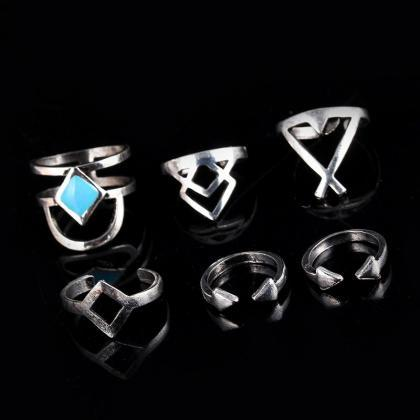 Diamond Arrow Turquoise 6 Pieces Of..