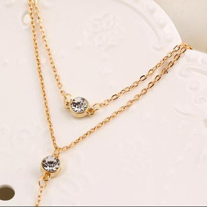 Fashion Sequins Multilayer Metal Cr..