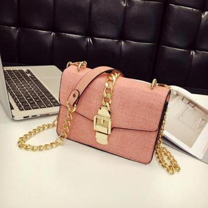 Belt Decorated PU Women Crossbody B..