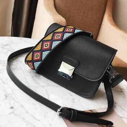 Ethnic Style Shoulder Strap Crossbo..