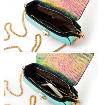Gradient Color Mini Crossbody Bag