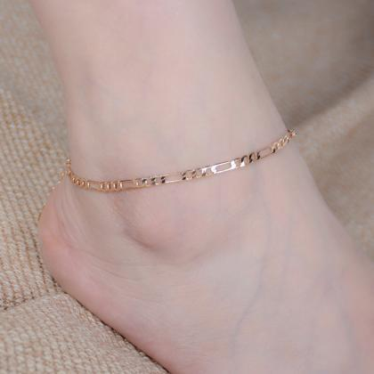 Fashion Metal Joker Money Anklets