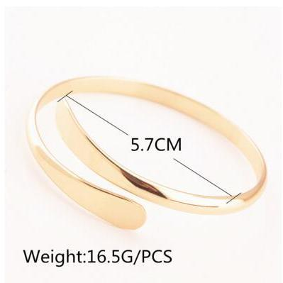 Fashion Joker Copper Open Bracelet