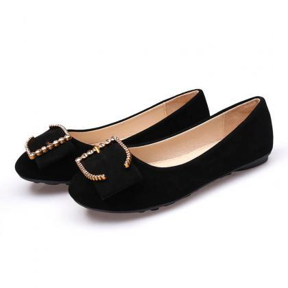Work Black Scrub Slip On Comfortabl..