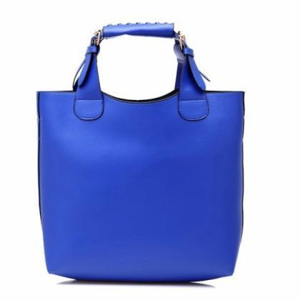 Ladies Tote Bag Synthetic Leather H..
