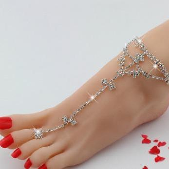 Even the drill toe ring Anklet Ankl..