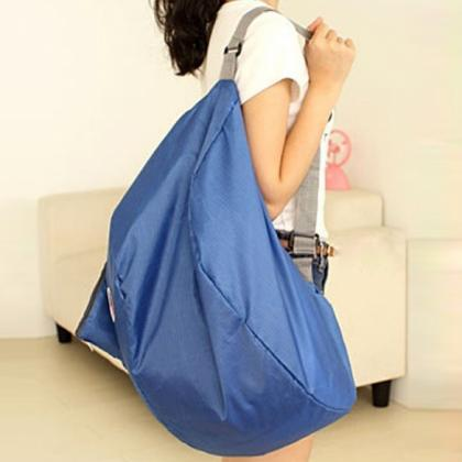 Folding Nylon Women Travel Bags Lug..