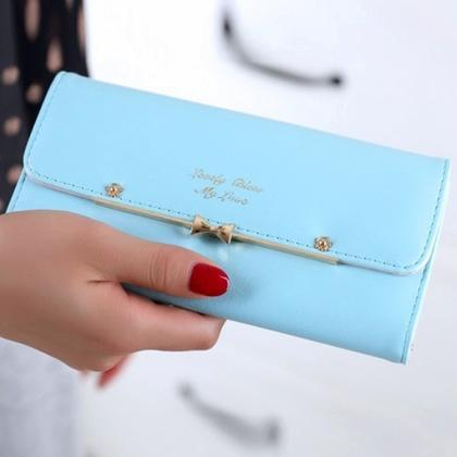 New Fashion Women Elegant PU Leathe..
