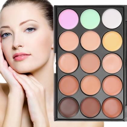 ACEVIVI 15 Colors Makeup Face Cream..