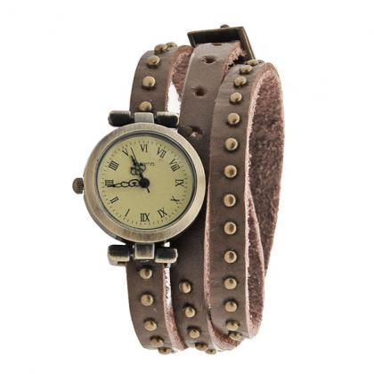 Classic Leather Strap Roma Number D..