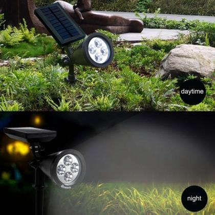 Homdox Outdoor Waterproof LED Solar..