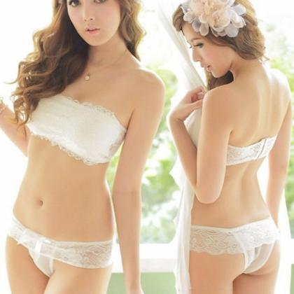 Women Girl sexy Slim Floral Lace Cr..
