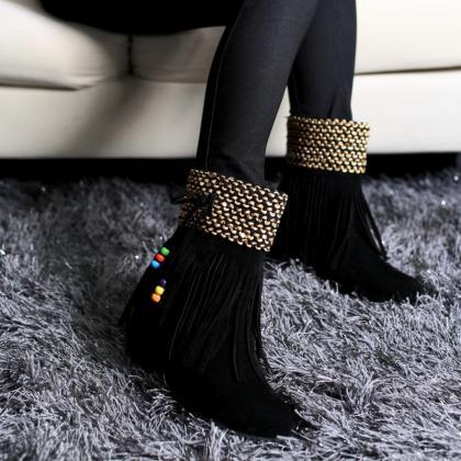 New Winter Tassel Increased Beads S..