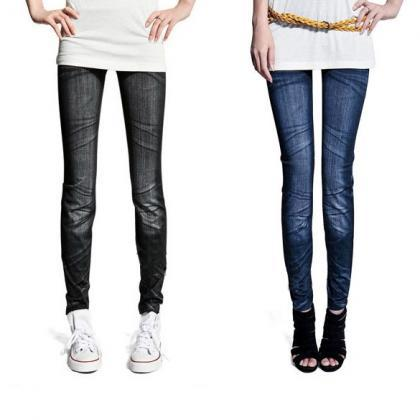 Women's Ladies Casual Tights Stretc..