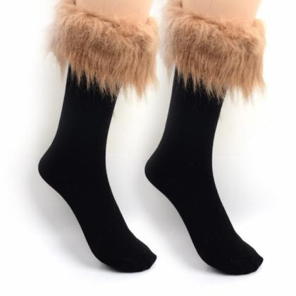 Japan Style Winter Snow Socks With ..