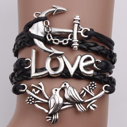Lovebirds Anchor Multielement Fashi..