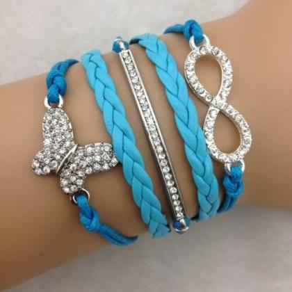 Crystal Butterfly Woven Multilayer ..