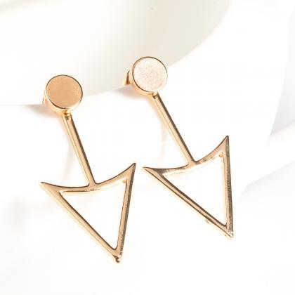Unique Triangle Women's Earrings