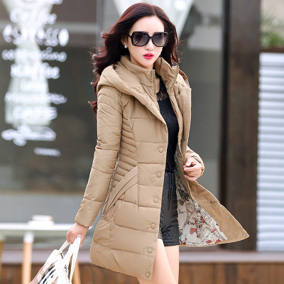 Warm Thick Long Women's Hoodie Coat