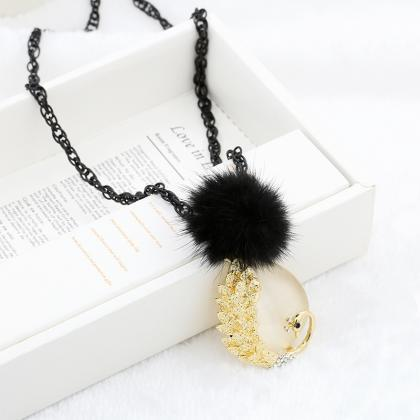 New leaf hair ball love thin chain ..