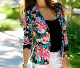 Fashion Flower Print..