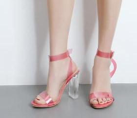 Transparent Open-Toe..