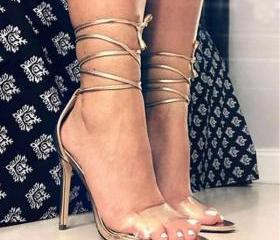 Transparent Peep-toe..