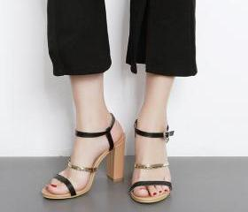Open-Toe Strappy Chu..