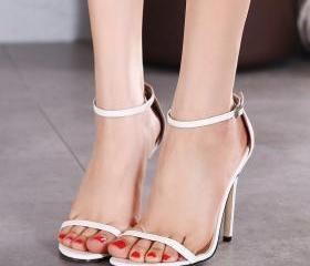 Simple Open Toe Ankl..