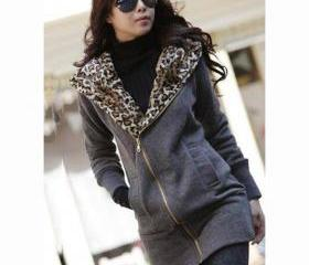 Zip Closure Leopard ..