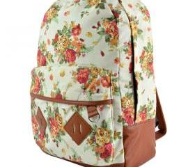 Canvas Flower Rucksa..