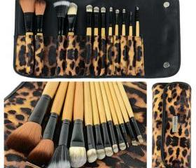 12 Pcs Makeup Brush ..
