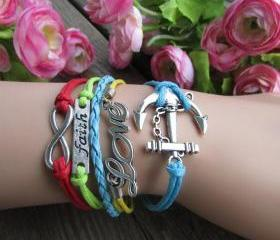 Colorful Anchor LOVE..