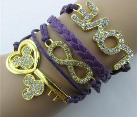 Crystal Mickey Key L..