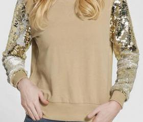 Fashion Sequins Slee..