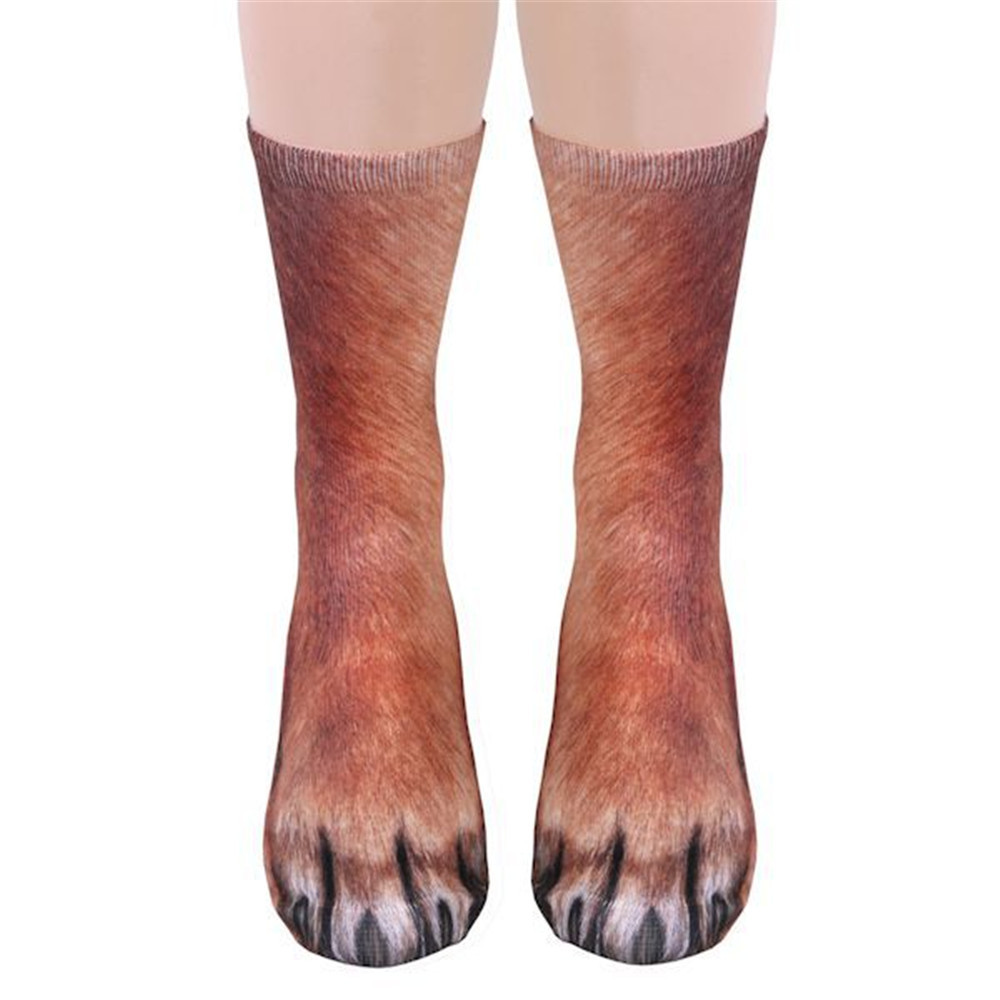 3D Printing Animal Foot Hoof Adult Children's Socks