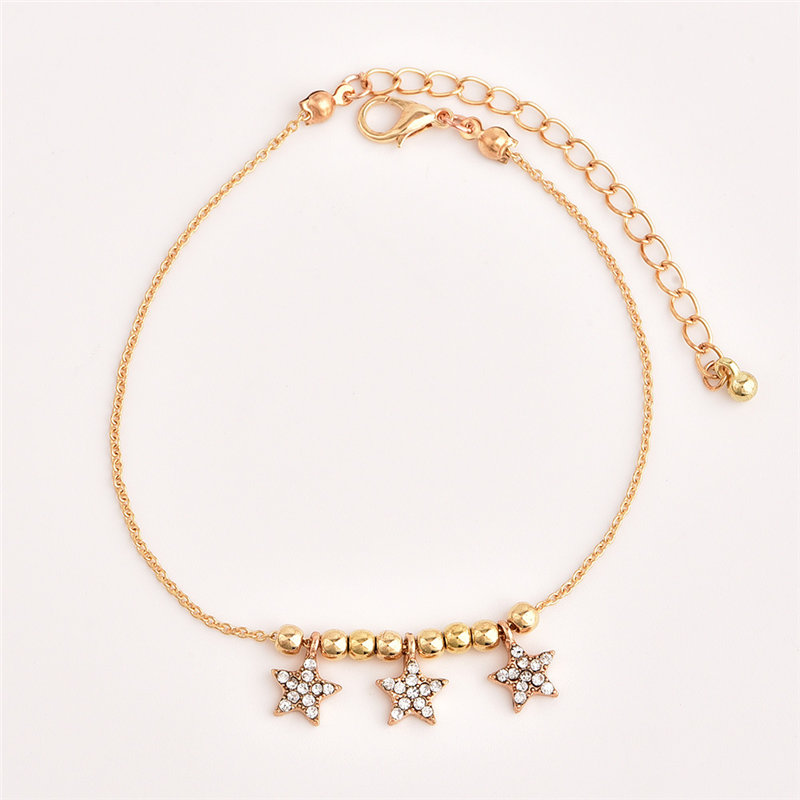 3pcs/set Trendy Women Anklets Summer Beach Jewelry Accessorie