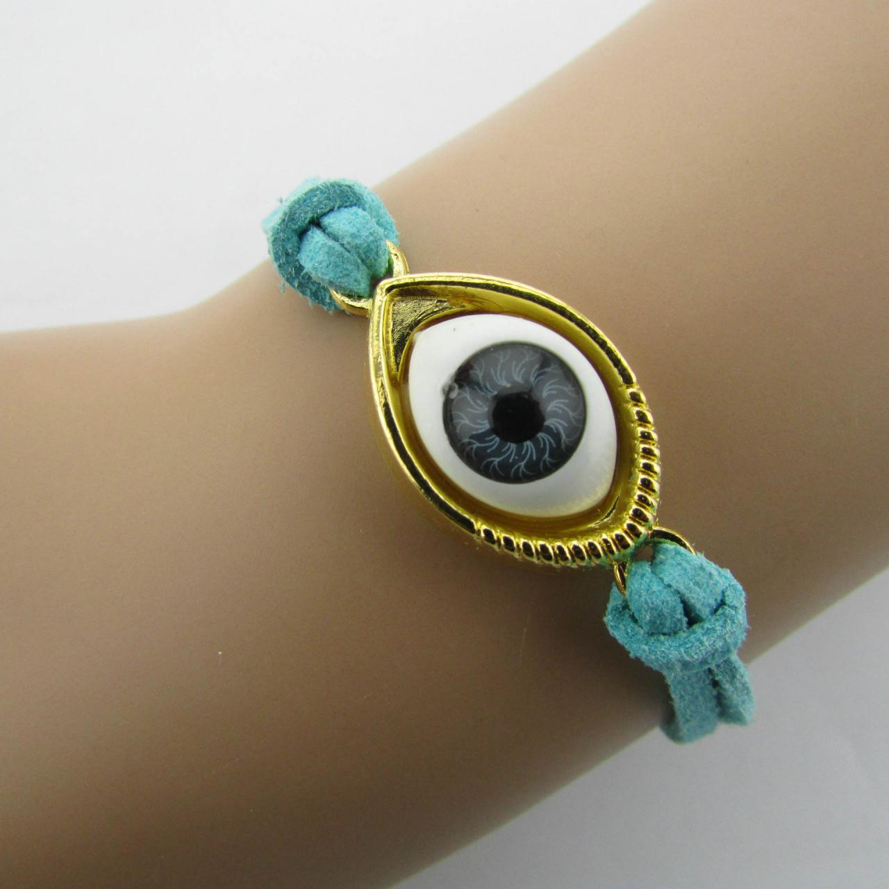 Retro Hand-made Evil Eye Bracelet