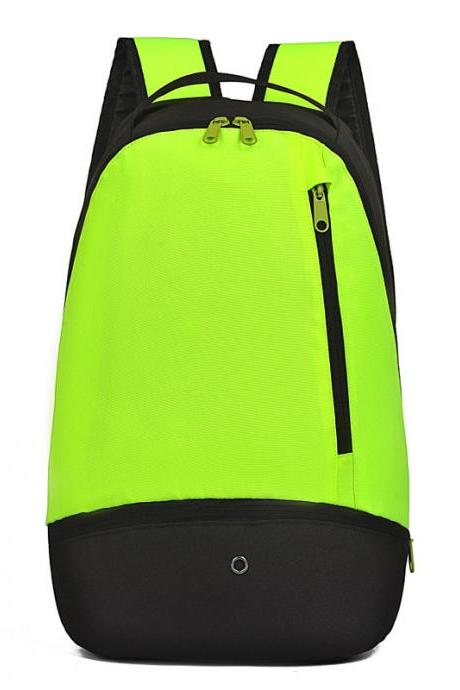 Contrast Color Simple Design Travel Backpack