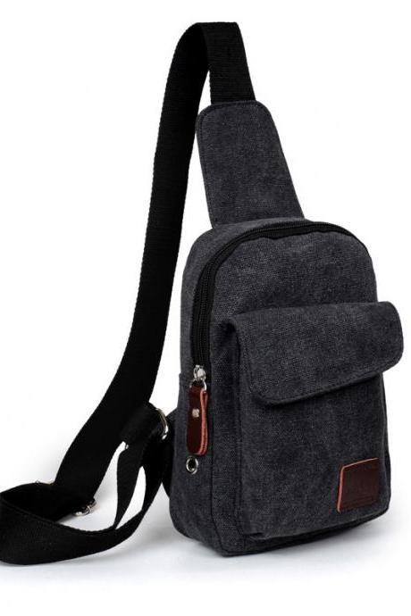 Canvas Out Pocket Chest Pack