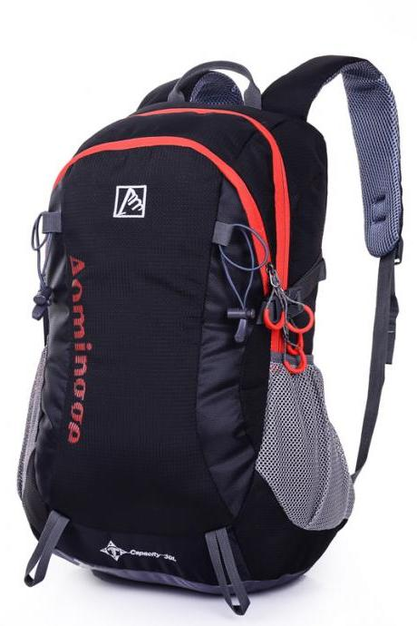 Solid Color Camping Backpack
