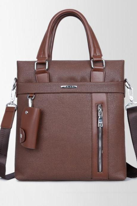 Casual PU Leather Men's Business Bag