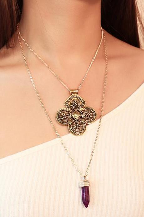 Antique Multi-layer Ethnic Wind Necklaces