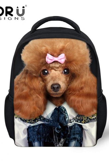 Personality 3D Animal Pattern Backpack