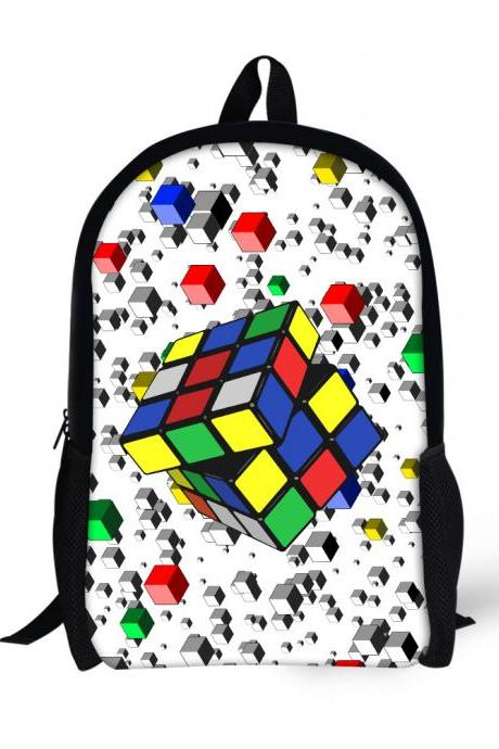 Three-dimensional Printing Pattern Children Backpack