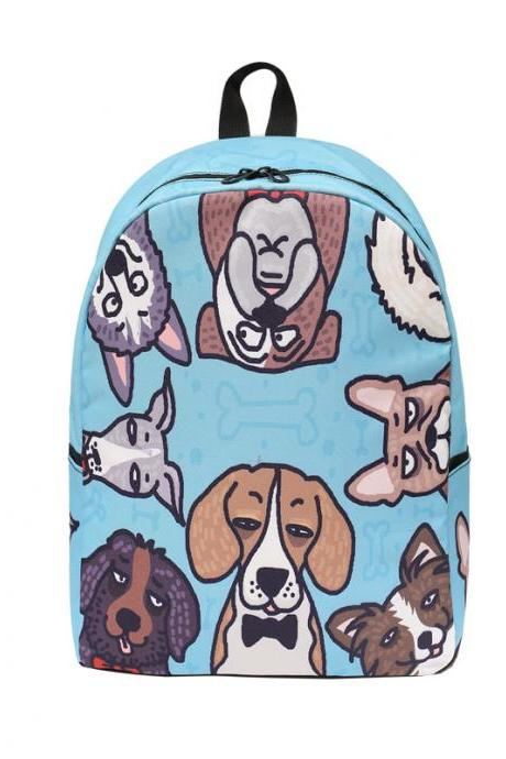 Lovely Cartoon Prints Children Backpack