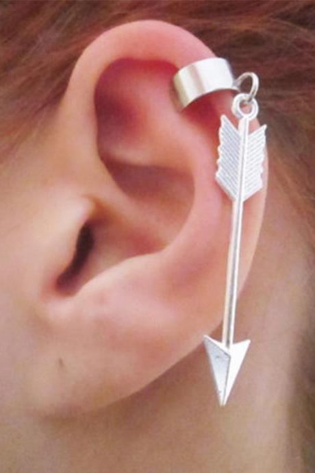 Fashion Metal Alloy Arrow Ear Clip