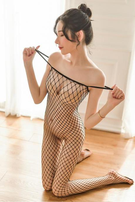 Sexy Women's Lingerie Fishing net stockings