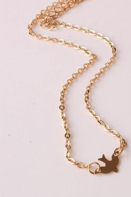 Alloy Birds Necklace Clavicle Chains Charm Womens Fashion Jewelry Colar Maxi Necklace For Women Hot
